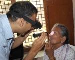 Dr.K.Ramesh Rao at work.