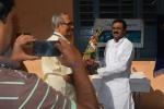 Treasurer, Sri B N Moorthy Felicitating Sri. Diddi Rambabu