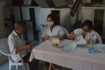 Dental doctors from Panineeya Institute of Dental Sciences & Research Centre at work